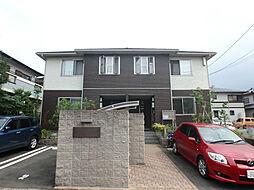 福岡県春日市白水ヶ丘3丁目の賃貸アパートの外観