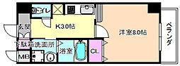 仮称)アーモンド樟葉[2階]の間取り