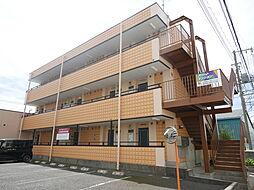 神奈川県厚木市岡田の賃貸マンションの外観