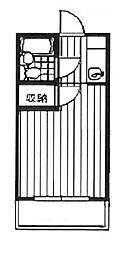 アゼリア宮崎台[1階]の間取り