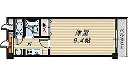 プレジデント21[7階]の間取り