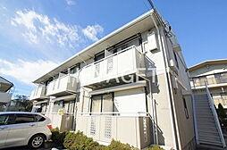 東京都日野市神明1丁目の賃貸アパートの外観