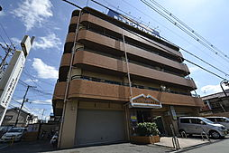 大阪府松原市阿保5丁目の賃貸マンションの外観
