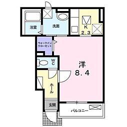 ブライト ハウス[1階]の間取り