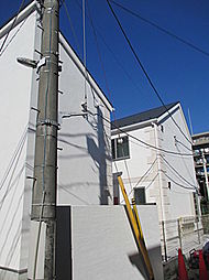 東京都大田区中央8丁目の賃貸アパートの外観