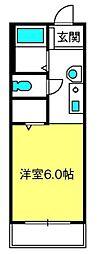 オラシオン[2階]の間取り