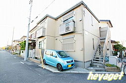 東京都日野市神明3の賃貸アパートの外観