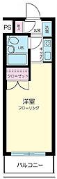 スカイコート高円寺第3[1階]の間取り