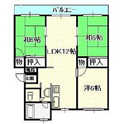 小園ビル[2階]の間取り