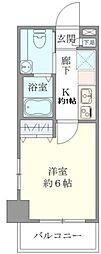 J−Cloud横浜鶴見[2階]の間取り