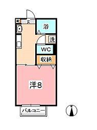 ニングル土倉C棟[1階]の間取り