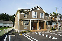 栃木県宇都宮市免ノ内町の賃貸アパートの外観