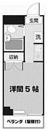 北浜ビル[4階]の間取り