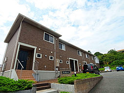 兵庫県神戸市須磨区多井畑字東所の賃貸アパートの外観