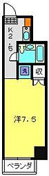 第10Z西村ビル[304号室]の間取り