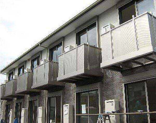 神奈川県横浜市青葉区鴨志田町の賃貸アパートの外観