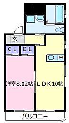 R´z Village N棟[1階]の間取り