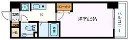 ロジェ今福鶴見[208号室]の間取り