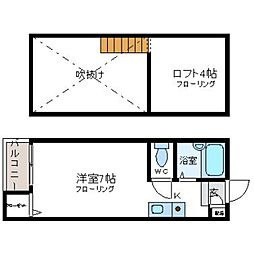 Neo Stage[2階]の間取り