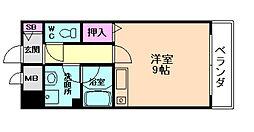 阪神ハイグレードマンション12番館[3階]の間取り