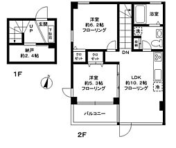 GS[B号室]の間取り