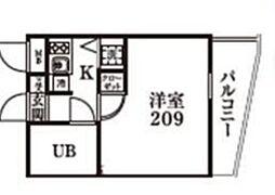 ワコーレ宮前平[2階]の間取り