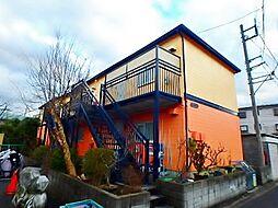 東京都多摩市東寺方の賃貸アパートの外観