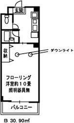 メゾンド・エフ2[3階]の間取り