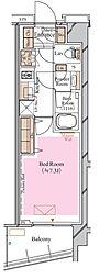 京急空港線 糀谷駅 徒歩4分の賃貸マンション 1階1Kの間取り