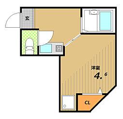 マウンテンハウスII[1階]の間取り