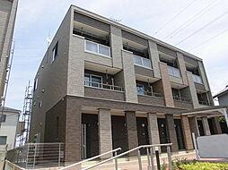 埼玉県入間市小谷田2丁目の賃貸アパートの外観