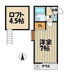 ライフアップ鎌倉[1階]の間取り