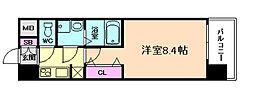 サムティ福島NORTH[10階]の間取り