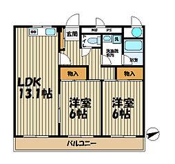 パークテラス鎌倉岡本[3階]の間取り