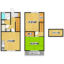 [テラスハウス] 東京都江戸川区南小岩4丁目 の賃貸【/】の間取り