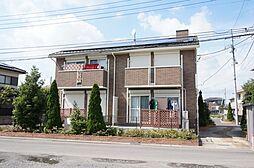 栃木県小山市大字横倉の賃貸アパートの外観