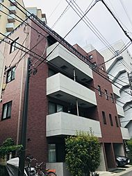 東京都新宿区内藤町の賃貸マンションの外観