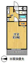 田ハイツ第3[307号室]の間取り