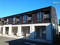 新潟県新潟市東区山の下町の賃貸アパートの外観