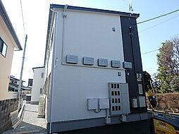 栃木県宇都宮市中一の沢町の賃貸アパートの外観