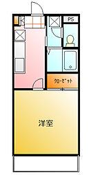 PARK PRAZA Ⅰ[2階]の間取り