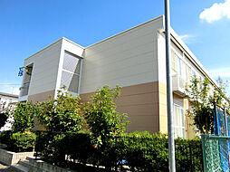 愛知県岡崎市中島西町3丁目の賃貸アパートの外観