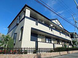 大阪府箕面市如意谷4の賃貸アパートの外観