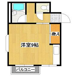 M・Tフラッツ[3階]の間取り
