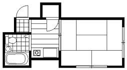 ニューサンハイツ・ヤナガワ[4階]の間取り
