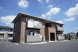 栃木県宇都宮市細谷1丁目の賃貸アパートの外観