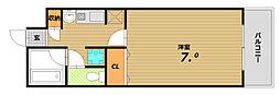 北野マンション[4階]の間取り