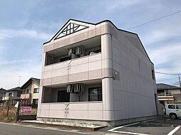 栃木県さくら市草川の賃貸アパートの外観