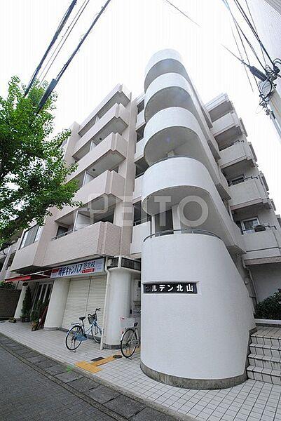 京都府京都市左京区松ケ崎芝本町の賃貸マンションの外観