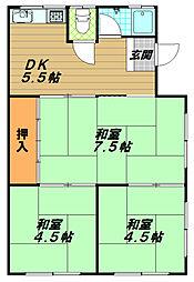 カラーズビンテージ高取山の家[1階]の間取り